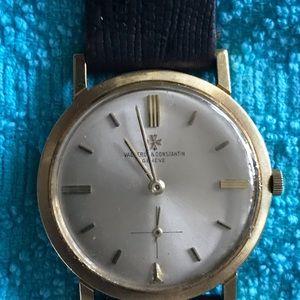 Vintage Vacheron & constantin 18 kt gold watch